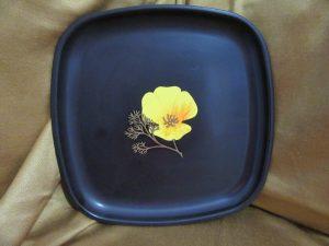 Couroc Monterey California Plate