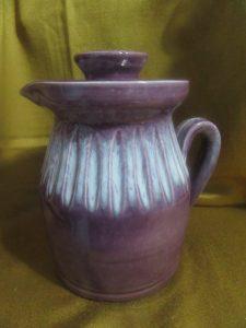 Kemety Purple Teapot