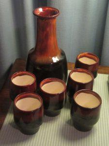 Ellis Wine Carafe & Cups