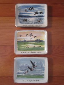 Midwinter Duck Pin Dishes