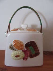 1950s Japan Biscuit Barrel