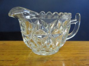 Crown Crystal Creamer