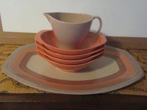 Orange Melmac Bowls
