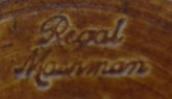 Regal Mashman pottery mark