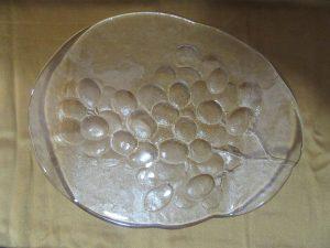Kosta Boda Grape Platter